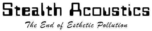 stealth acoustic logo