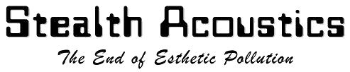 stealth acoustic logo